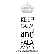 [Crown] Keep Calm And Hala Madrid