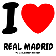I [Love Heart] Real Madrid