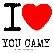 I [Love Heart] You Camy