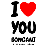I [Love Heart] You Bongani
