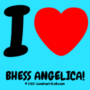 I [Love Heart] Bhess Angelica!