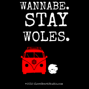 Wannabe. stay woles.  [Campervan] .