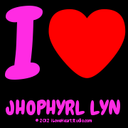 I [Love Heart] Jhophyrl Lyn