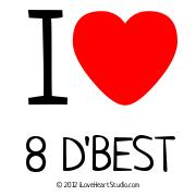 I [Love Heart] 8 D