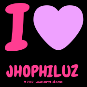I [Love Heart] Jhophiluz