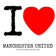 I [Love Heart]  Manchester United