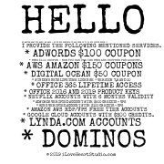 Hello  No Matter What You Want, We Have - So Do Not Hesitate To Ask Even If It Is Not Listed Below !! I Provide The Following Mentioned Services.  * Adwords $100 Coupon * Bing $100 Coupon - Now You Can Use Two Bing Ads Coupons Per Account. * Aws Amazon $150 Coupons * Digital Ocean $50 Coupon * Windows Keys Lifetime License -version 7,8 And 10 * Office 365 Lifetime Access * Office 2016 And 2019 Product Keys * Netflix Accounts With 6 Months Validity * Adwords Verified Account With $500 Credits + Vps * Bing Verified Account With $100 Credits + Vps * Amazon Aws Rdp/vps Free Tier Accounts * Google Cloud Accounts With $300 Credits. * Lynda.com Accounts * Dominos & Pizza Hut Pizzas Available(for Usa) Only * Azure Accounts With $200 Credits * Adsense Accounts With Domain And Website * Quality Niche Websites/blogs * Cpa Accounts Approval Of Any Company * Paypal Verified Accounts With No 21 Days Hold * Any Other Service You Are Looking For ....................................................................................... All This Below I Have New & Aged Accounts, Minimum Order: 100 Acounts * Google Voice Accounts * Gmail Email Accounts * Yahoo Email Accounts * Hotmail Email Accounts * Outlook Email Accounts * Gmx.com Email Accounts * Aol Email Accounts * Edu Email Accounts * Facebook Accounts * Linkedin Accounts * Twitter Accounts * Instagram Accounts * Reddit Accounts * Pinterest Accounts  If You Are Interested In The Following Services, Please Let Me Know Here: Bestservice@post.com  Thanks