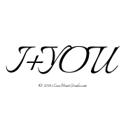 I+you= [Love Heart]