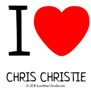 I [Love Heart] Chris Christie