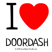 I [Love Heart] Doordash