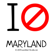 I [No Sign] Maryland