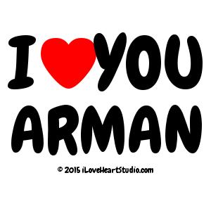 I [Love Heart] You Arman