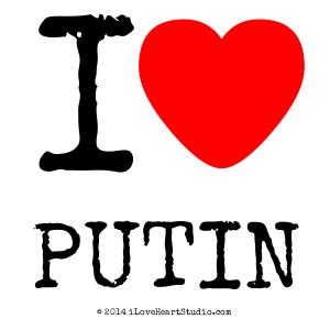 I [Love Heart] Putin