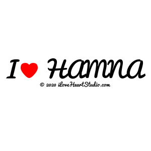 I [Love Heart] Hamna