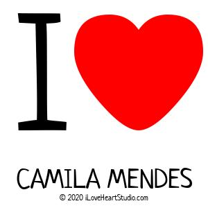 I [Love Heart] Camila Mendes