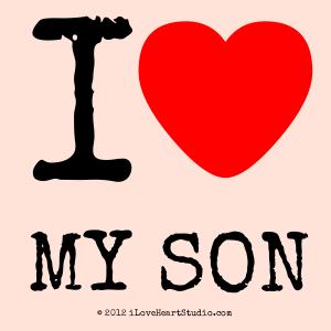 I [Love Heart] My Son
