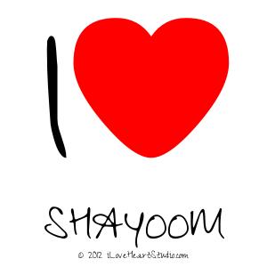 I [Love Heart]  Shayoom