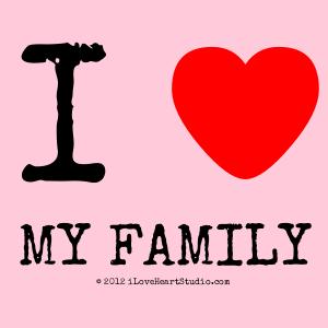 I [Love Heart]  My Family
