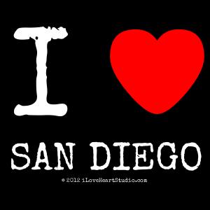 I [Love Heart] San Diego