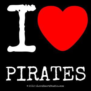 I [Love Heart] Pirates